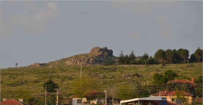 Sındırgı'da Atatürk Silüeti