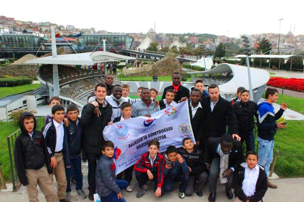 Sındırgı Bilge Nesil İstanbul programı kapsamında İstanbul'daydı (1)