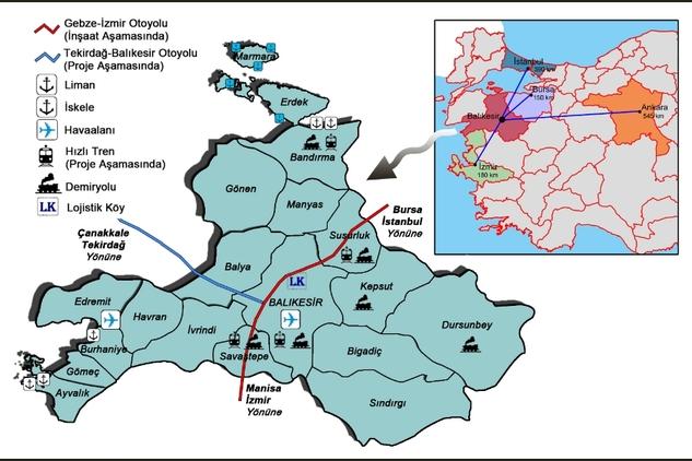 İstanbul-İzmir Otoyolunun Balıkesir Ayağı sındırgıda.com (3)