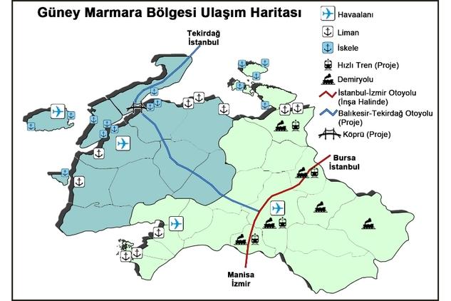 İstanbul-İzmir Otoyolunun Balıkesir Ayağı sındırgıda.com (4)